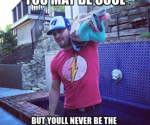 the flash, oliver queen, and stephen amell image