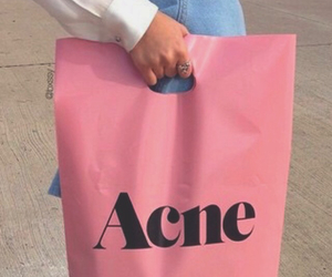 acne, clothes, and pink image