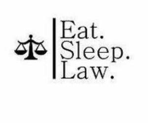 eat, Law, and sleep image