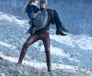 the flash, barry allen, and caitlin snow image