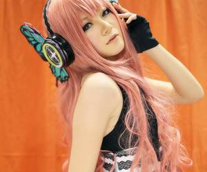 cosplay, vocaloid, and girl image