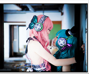 vocaloid, cosplay, and magnet image