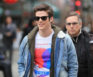 grant gustin, barry allen, and cute image