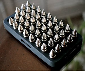 iphone, studs, and spikes image
