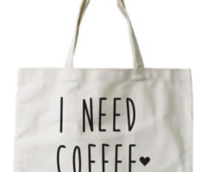 bags, coffee, and shopper image