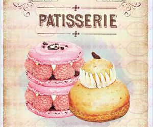 dessert, girly, and pastries image