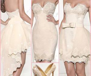 beautiful, dress, and dresses image