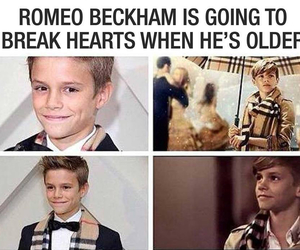 romeo beckham, beckham, and handsome image