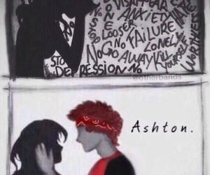 5sos, him, and 5 seconds of summer image