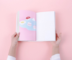 pastel, aesthetic, and book image