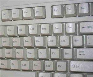 esc, escape, and keyboard image