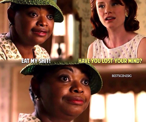 funny, movie, and the help image