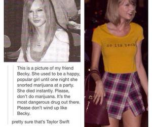 Taylor Swift, funny, and becky image