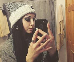 alternative, eyebrows, and grunge image