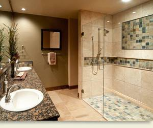 bathroom and architecture image