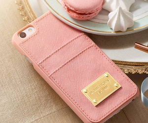 Michael Kors, pink, and iphone image