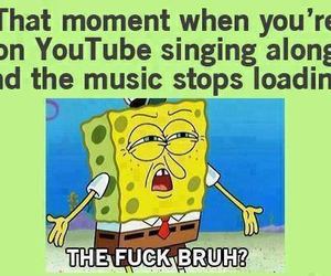 funny, spongebob, and youtube image