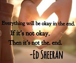 okay and ed sheeran image