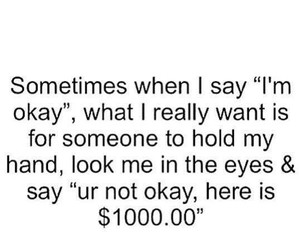 funny, money, and quote image