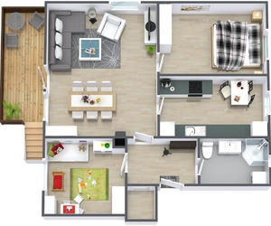 floor plan designer, home floor plan designer, and house floor plan software image