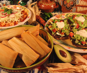 food, mexican food, and tamales image