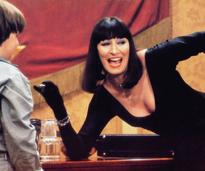 Anjelica Huston and movie image