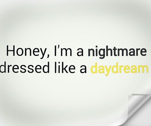 girls, nightmare, and quotes image