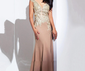 fashion pageant dress, mermaid pageant dress, and elegant pageant dress image