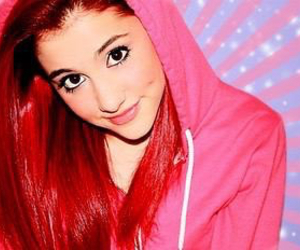 ariana grande, pretty, and red hair image