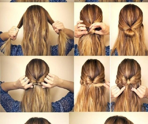 blond, Easy, and hair image