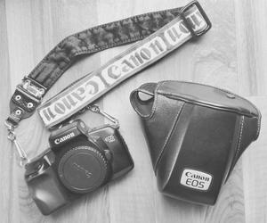 black and white, boho, and cameras image