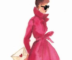 fashion, drawing, and art image