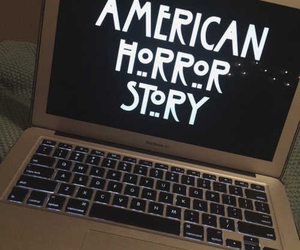 american horror story, macbook, and ahs image