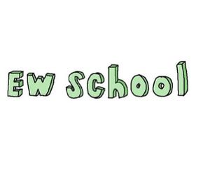 school, overlay, and ew school image