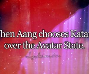avatar, quotes, and kataang image