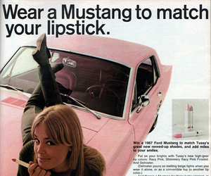 advertising, pink, and vintage image