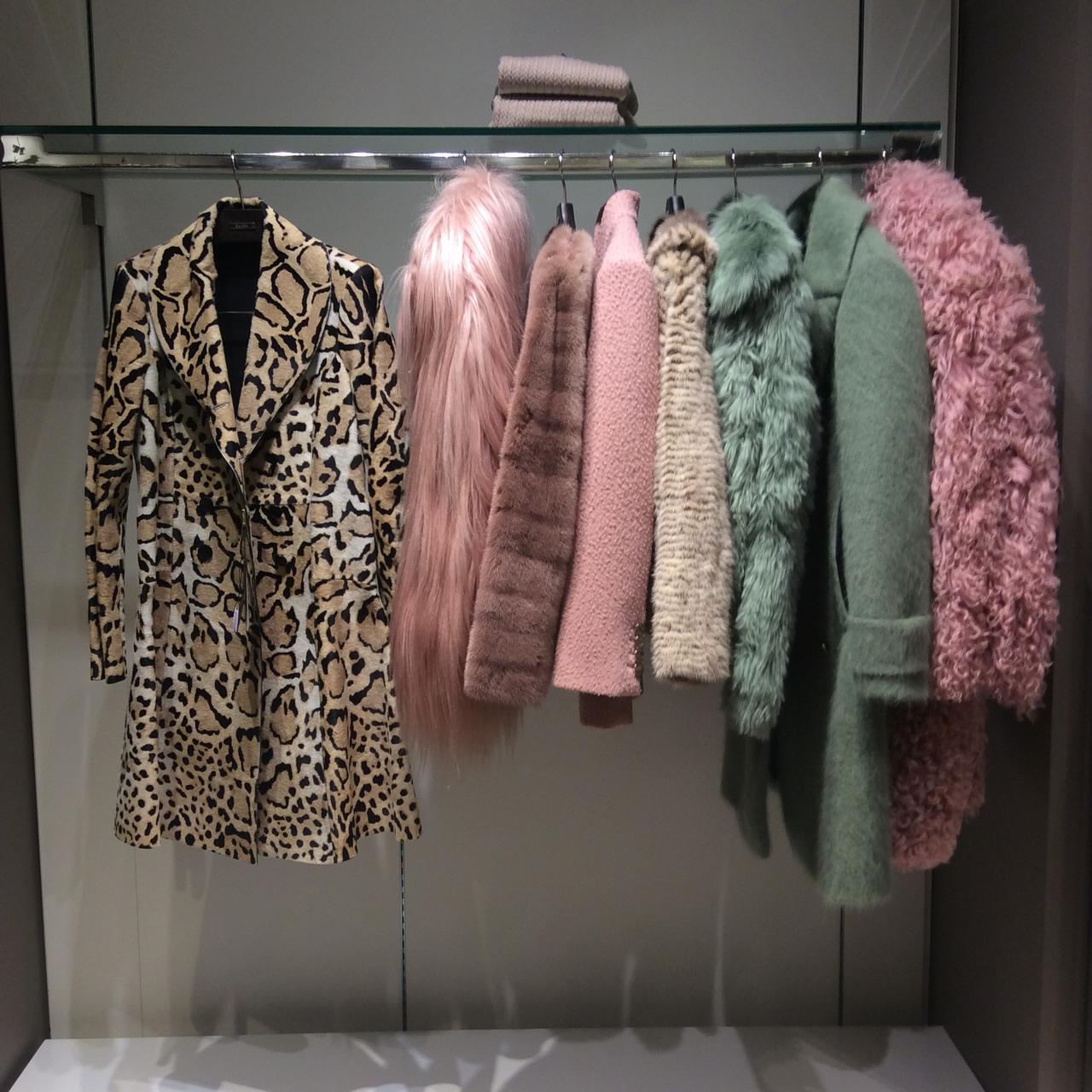 fur, closet, and clothes image