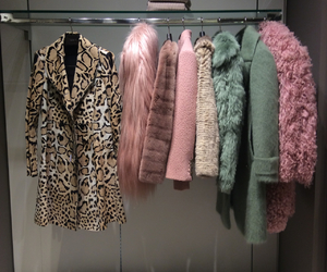 fur, closet, and clothes image