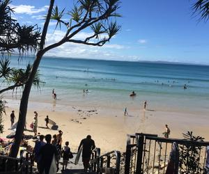 australia, beach, and stairs image