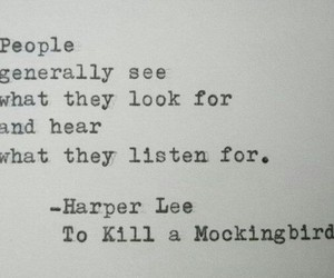 quotes, book, and Harper Lee image