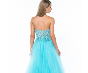 blue prom dresses, long prom dresses, and beaded prom dresses image