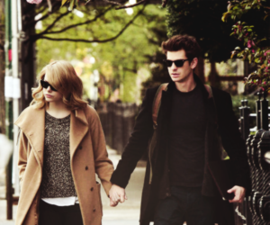 emma stone and andrew garfield image