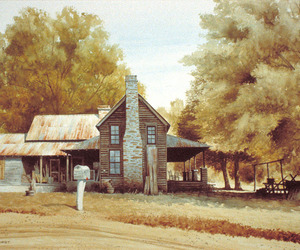 art, country, and fall image