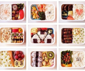 food, sushi, and bento image
