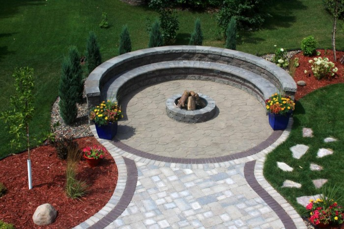 Dazzle Small Backyard Pavers Design Ideas For Pictures Of