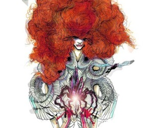 bjork, sketch, and drawing image