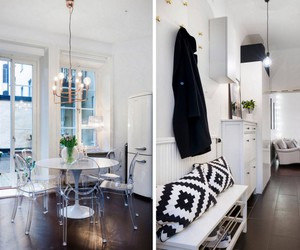 chic, interior, and kitchen image