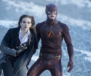 snowbarry, danielle panabaker, and the flash image