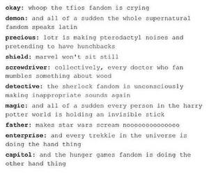 Avengers, doctor who, and LOTR image