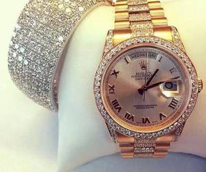 watch, luxury, and rolex image